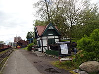 Bahnhof Kappeln Fahrkartenhaus.JPG