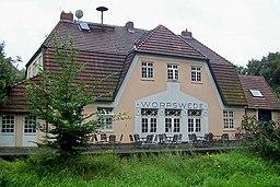Bahnhof Worpswede.