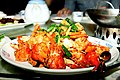 Baked lobster with ginger and scallion (10202668163).jpg