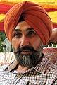 Baldev Dhaliwal, Punjabi language story writer and critic, Punjab, India.JPG