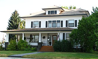 National Register of Historic Places listings in Crook County, Oregon - Image: Baldwin House Prineville Oregon
