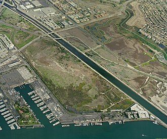 Ballona Wetlands - Ballona Wetlands, Ballona Creek, and Marina Del Rey Harbor