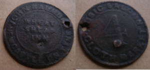 Balmbra's Music Hall - A token to gain entry to Balmbras music hall in Newcastle