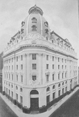 Headquarters in Buenos Aires (1926).