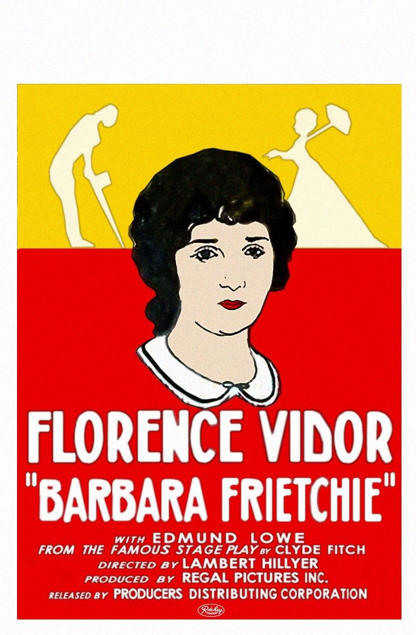 Barbara Frietchie - film poster