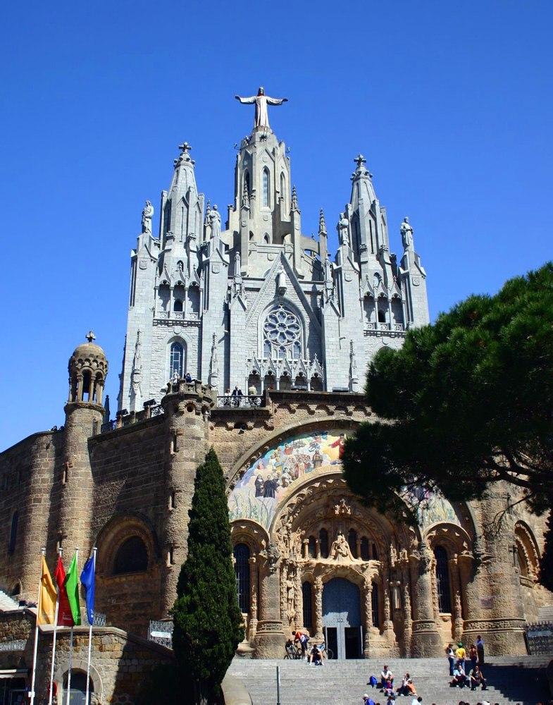 Barcelona.Tibidabo.Sagrat.Cor