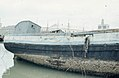 Barnacles on Barbette boat. Spain. 1975 (37498295600).jpg