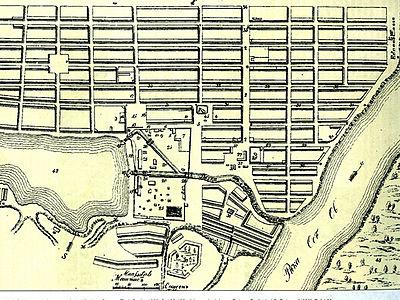 План Барнаула от 1826 года,