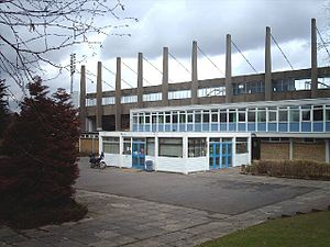 Barnet Copthall - Barnet Copthall Stadium in 2006 before renovation