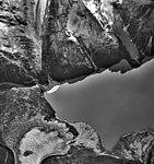 Barrier Glacier, terminus of valley glacier, with part of the terminus transforming into a rock glacier, September 22, 1992 (GLACIERS 6884).jpg