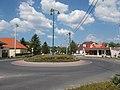 Bartók-Vörösmarty roundabout, 2017 Dabas.jpg