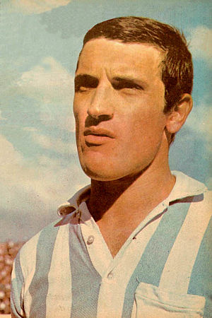 Alfio Basile - Basile during his tenure on Racing Club de Avellaneda, 1966.
