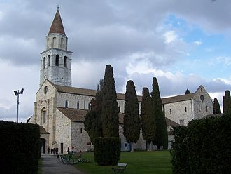 Aquileia - The Basilica of Aquileia.