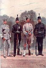 Battalions of The London Regiment early 1900s by Richard Caton Woodville
