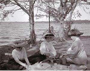 Bay of Quinte - Image: Bay of Quinte picnic 1909