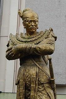 16th-century King of Burma