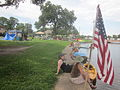 Bayou St John 4th of July 2013 Flag Gulp.JPG