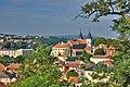 Bazilika sv. Prokopa - pohled z ulice Na hrádku, Třebíč.jpg
