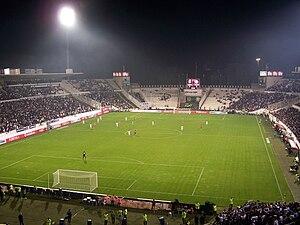 BJK İnönü Stadium - Image: Beşiktaş Antalyaspor match in 30 October 2008