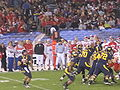 Bears on offense at 2009 Poinsettia Bowl 17.JPG