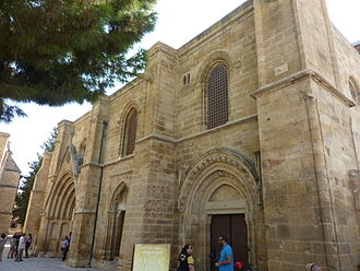 Bedesten, Nicosia - Image: Bedestan (St Nicholas of the English Church), Nicosia (06)