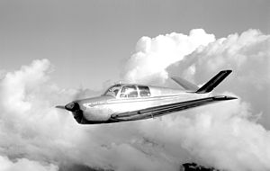 The Day the Music Died - A V-tailed Bonanza similar to N3794N, the accident aircraft