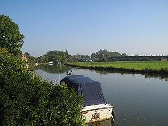 Linge - Linge river near Beesd