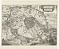 Belegering van Maastricht, 1632 Obsidio Mosae-Trajecti Belagerung Mastrich Angefangen den 9. Junij übergeben den 12. Augusti 1632 (titel op object), RP-P-1909-374.jpg
