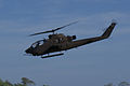 Bell AH-1F Cobra 67-15826 Sky Soldiers Outbound 06 TICO 16March2014 (14662412971).jpg