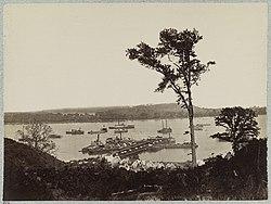Belle Plain Landing, Va., albumen print on card mount.jpg