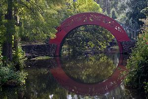 Theodore, Alabama - Moon bridge at Bellingrath Gardens