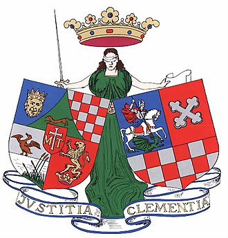 Counties of Croatia - Image: Belovar Koros coatofarms