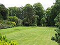 Belsay Hall - croquet lawn (2) - geograph.org.uk - 1479349.jpg