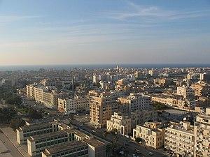 Benghazi - Image: Bengasi visto dall'Hotel Tibesti panoramio