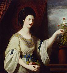 Portrait of Diana Mary Barker (born ca. 1749)