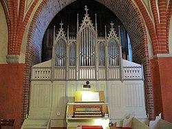 Bentwisch-Volkenshagen, Dorfkirche, Orgel.jpg
