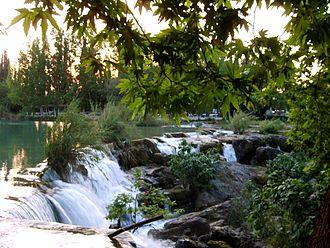 Berdan River - Image: Berdan Waterfall in Tarsus
