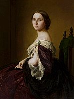 Berkowski Portrait of a lady in a purple dress.jpg