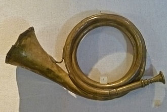 Post horn - German post horn (19th century)