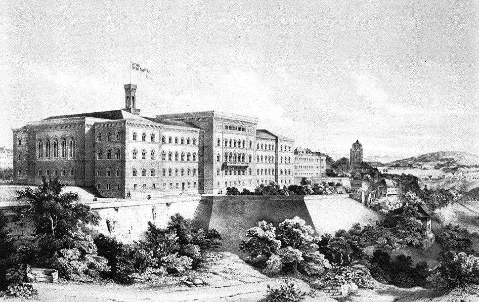 Bern, Federal Palace, 1857