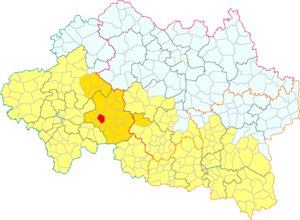 Bézenet - Image: Besenet dins la Comunautat de Comunas de la Region de Montmaraud