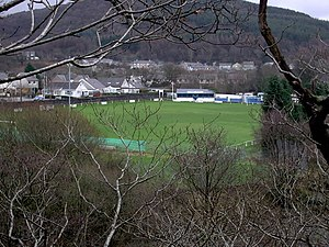 Bethesda Athletic F.C. - Parc Meurig, home of Bethesda Athletic.