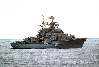 <i>Sovremenny</i>-class destroyer Class of destroyer built for the Soviet Navy