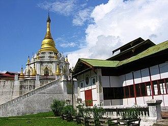 Bhamo - Pagoda Ike Kaw Daw (အိုက်ခေါတော် စေတီ)