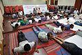 Bhujangasana - International Day of Yoga Celebration - NCSM - Kolkata 2015-06-21 7388.JPG