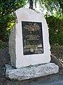 Biłgoraj, obelisk w miejscu synagogi.jpg