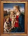Biagio d'antonio, madonna col bambino e un angelo, 1480-85, 01.JPG