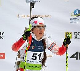 Mąka at the 2017 European Championships.