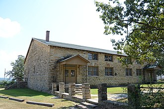 National Register of Historic Places listings in Baxter County, Arkansas - Image: Big Flat School Gymnasium