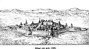 Bihac tvrdi grad AD 1590.jpg